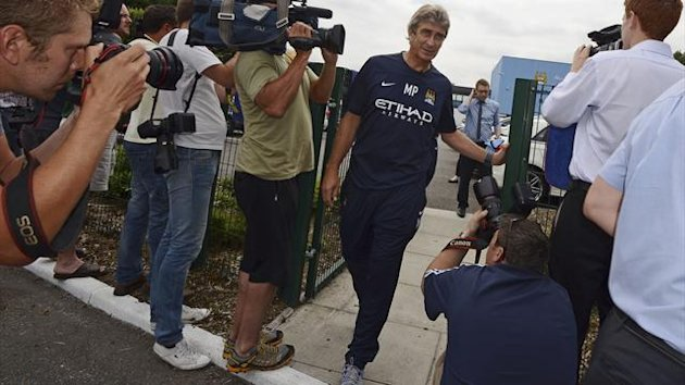 Manchester City's new manager Manuel Pellegrini (Reuters)