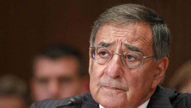 FILE - In this June 13, 2012 file photo, Defense Secretary Leon Panetta testifies on Capitol Hill in Washington. Last summer, gays in the military dared not admit their sexual orientation. This summer, the Pentagon will salute them, marking gay pride month just as it marks other celebrations honoring racial or ethnic groups.  Officials said Thursday that they're planning the first-ever event to recognize gay and lesbian troops.  (AP Photo/Jacquelyn Martin, File)