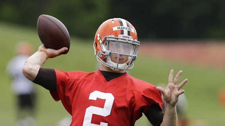 Browns not worried about Manziel's partying