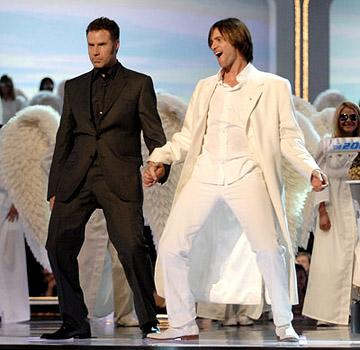 Will Ferrell and Jim Carrey MTV Generation Award MTV Movie Awards - 6/3/2006