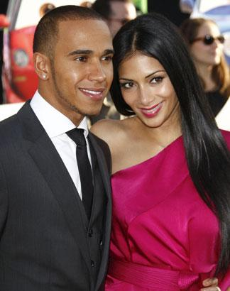 Nicole Scherzinger Denies Lewis Hamilton Split: 'We're Lovely'