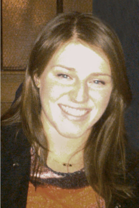 This undated family photo shows Meg Theriault, 21, a Boston University student injured in a crash in New Zealand on Saturday morning, May 12, 2012. Theriault was in intensive care Sunday at Waikato Ho