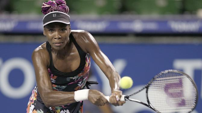 Williams reaches 3rd round at Pan Pacific Open