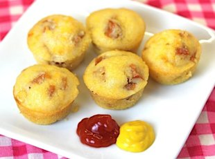 baked corn dog muffin style