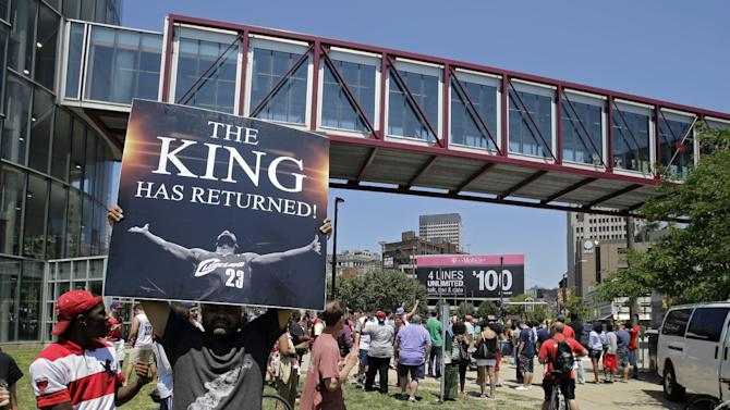 The Return: Cleveland welcomes LeBron back