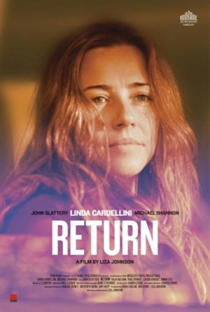 "Theatrical Poster for ""Return"" (2011), copyright Return Films.  Fair Use:  Critical comment on the film or event. User: Lexein. Wikimedia Commons."
