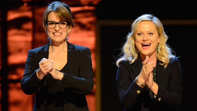 Fey and Poehler Hosting Golden Globes