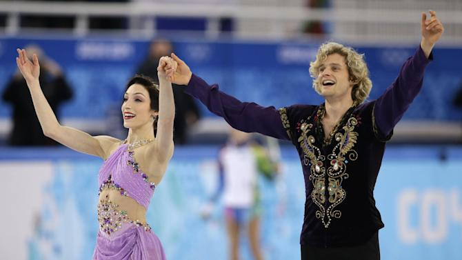 Davis, White of US win Olympic ice dance gold