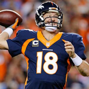 Will Denver Broncos quarterback Peyton Manning rank last of the top 4 quarterbacks in the top 10?