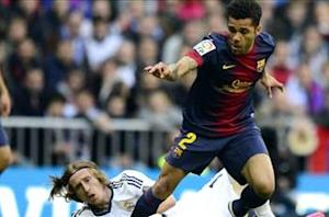 Dani Alves hits out at Roura critics