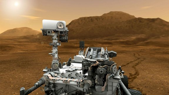 Touching Mars: Huge NASA Rover Carries Strong Arm for Red Planet