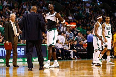 Kevin Garnett once got a Celtics practice canceled because he refused to take a day off