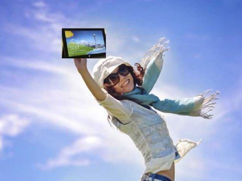 Jumping joy Windows 8