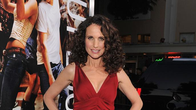 Footloose LA Premiere 2011 Andie MacDowell