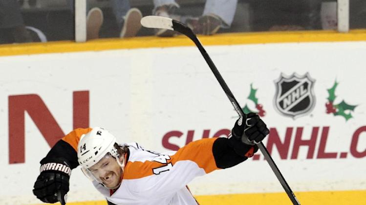 Flyers edge Predators 3-2 in shootout