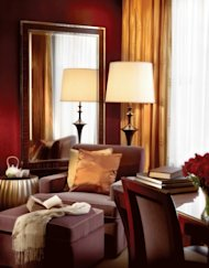 Guestroom detail, new Four Seasons Hotel in Beijing