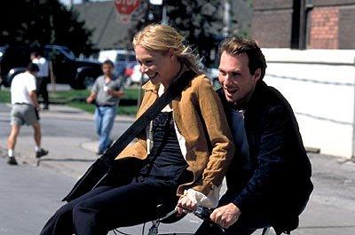 Portia de Rossi and Christian Slater in Paramount classics' Who Is Cletis Tout?