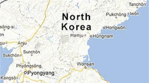North Korea Visible On Google Maps