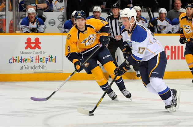 St Louis Blues v Nashville Predators