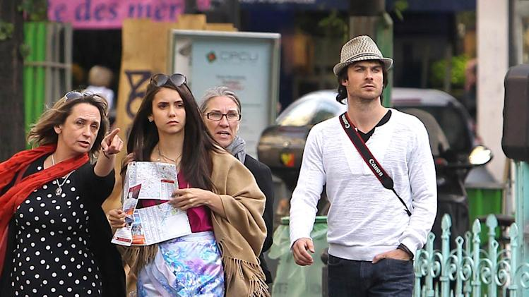 Dobrev Somerhalder Paris