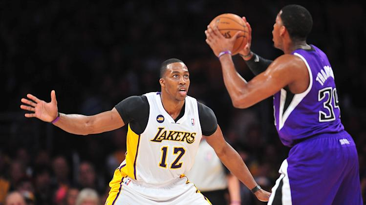 NBA: Sacramento Kings at Los Angeles Lakers