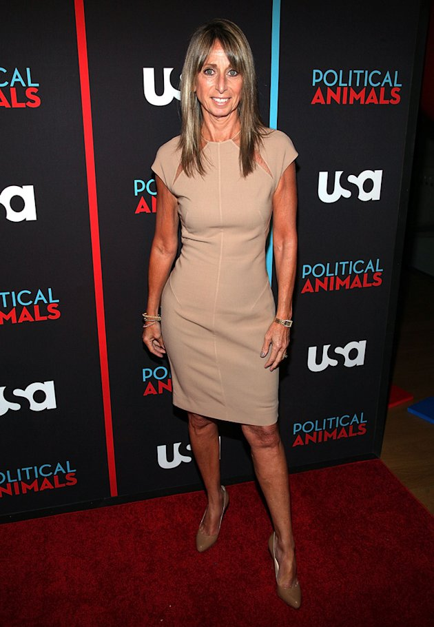 "Bonnie Hammer at the "" Political Animals NY premiere."