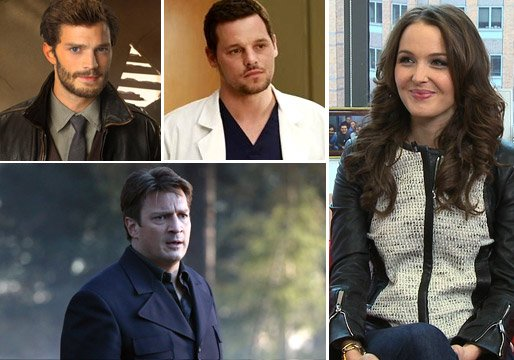New Spoiler Alert!: Castle Renewal Update, Once Upon a Time's Next Casualties and Grey's Intern Camilla Luddington on an Alex/Jo Kiss