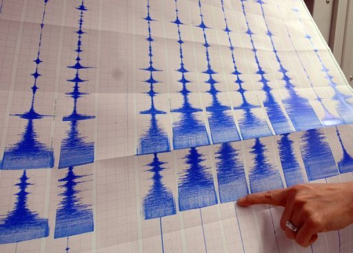 &lt;p&gt;A seismologist points to a graphic showing an earthquake. Seismologists have unveiled a map highlighting zones most prone to unleashing the world&#39;s biggest earthquakes, including the 9.0 monster that struck northeastern Japan in March 2011.&lt;/p&gt;