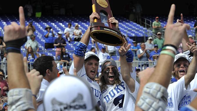 Duke beats Notre Dame 11-9 to win NCAA lax title