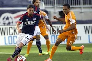New England Revolution 2-0 Houston Dynamo: Alston nets first MLS goal in win over Houston