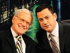 Letterman Visit Gives 'Jimmy Kimmel' Most-Watched Wednesday Ever