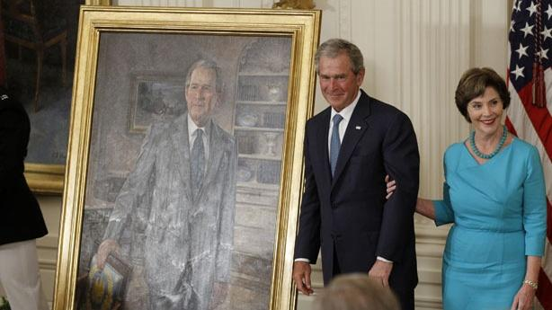 George W. Bush Will Watch Over the White House Forever