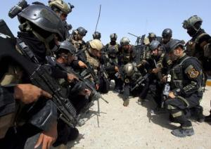 Members of the Iraqi Special Operations Forces prepare…