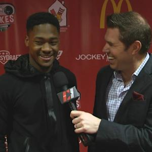 Maryland's Stefon Diggs In Chicago For NFL Draft