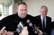 "Megaupload founder Kim Dotcom, seen in February 2012, has taken to Twitter as a self-styled ""freedom fighter"" as he waits to find out if the United States can extradite him from New Zealand to face online piracy charges"