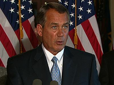 Boehner on Sequester: Obama Campaigning Instead