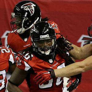 Atlanta Falcons safety Kemal Ishmael pick six