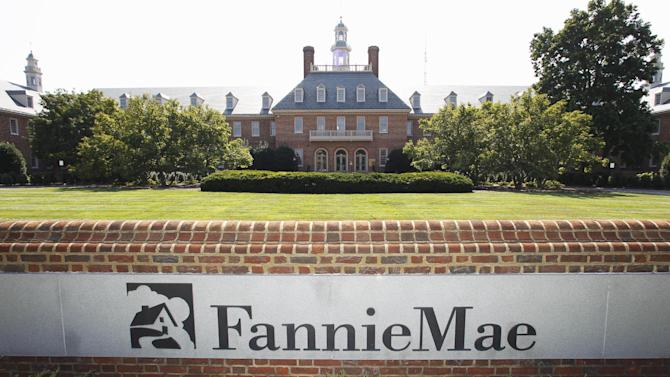 FILE - In this Aug. 8, 2011, photo, the Fannie Mae headquarters is seen in Washington. Fannie Mae reports its earnings for the January-March quarter on Thursday, May 9, 2013. (AP Photo/Manuel Balce Ceneta, File)