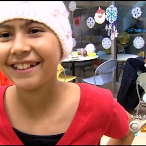10-Year-Old Cancer Patient Delivers Donated Toys To Children At LA Medical Center