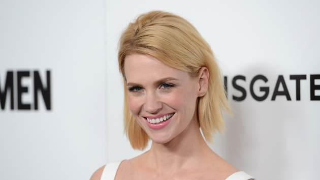 January Jones arrives at the premiere of AMC's 'Mad Men' Season 6 at DGA Theater on March 20, 2013 in Los Angeles -- Getty Images