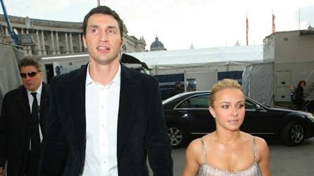 Wladimir Klitschko und Hayden Panetierre
