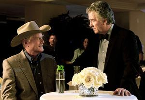 Larry Hagman and Patrick Duffy | Photo Credits: Zade Rosenthal/TNT