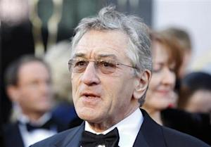 "Robert De Niro, best supporting actor nominee for his role in ""Silver Linings Playbook"", arrives at the 85th Academy Awards in Hollywood"