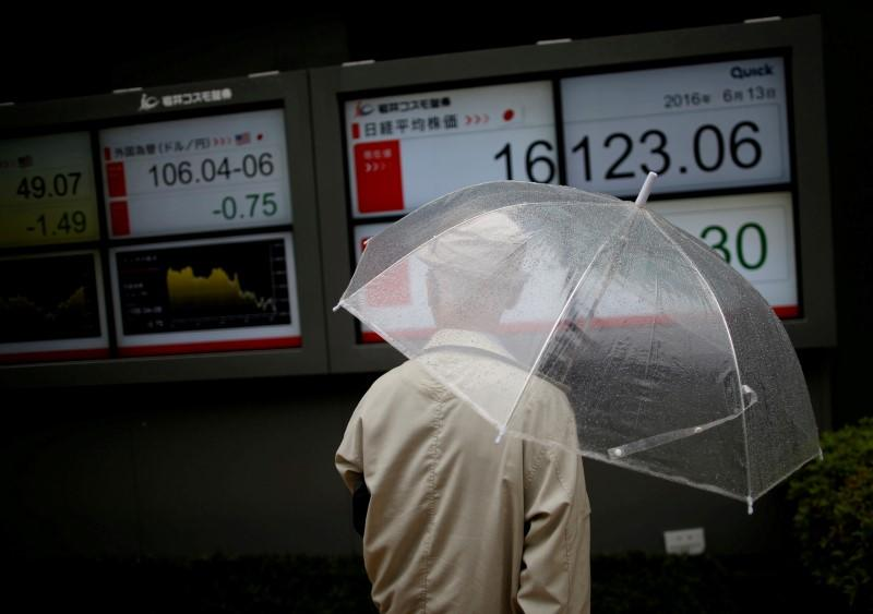 Japan shares slip, yen gains as uncertainty grips