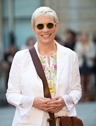 Annie Lennox attends a special 'Celebration of the Arts' event at the Royal Academy of Arts in London on May 23, 2012 -- Getty Premium