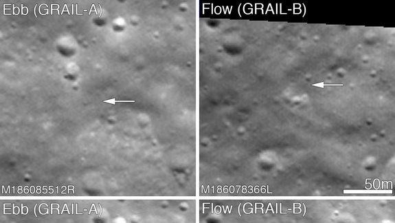 Graves of Twin Moon Probes Spotted by NASA Spacecraft