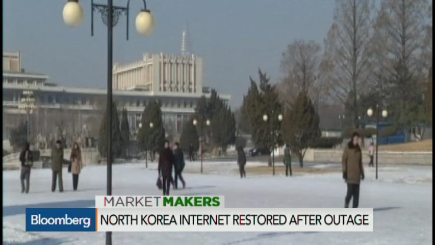 North Korea blames the U.S. for Internet outages
