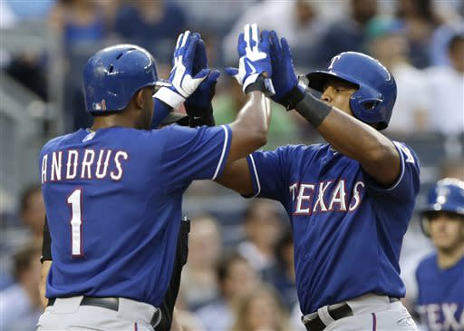 Cruz, Beltre lead Rangers to 8-5 win over Yankees