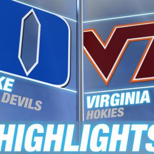 Duke vs Virginia Tech | 2014-15 ACC Men's Basketball Highlights