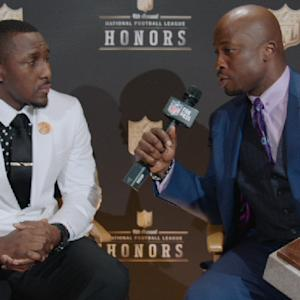 'NFL Honors': Carolina Panthers linebacker Thomas Davis on winning Walter Payton Man of the Year